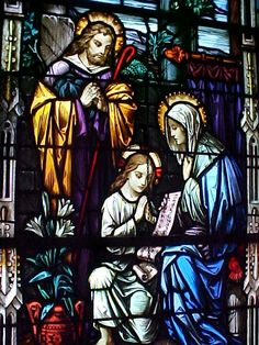 Antique Church Stained Glass - reminds me of the windows in my church, St. Thomas Aquinas in Dallas, Texas. Stained Glass Church, Stained Glass Lamps, Stained Glass Windows, Glass Cactus, Broken Glass Art, Glass Photography, Church Windows, Holy Family, Glass Marbles