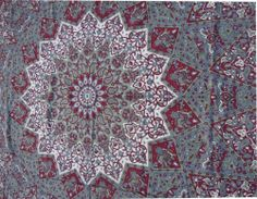 Indian Star Hippie Mandala Psychedelic Wall Hanging Tapestry Throw Ethnic Art XL
