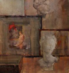 """Saatchi Art Artist Fanny Nushka Moreaux; Painting, """"Intérieur Collectionneur VIII, 2014"""" #art"""