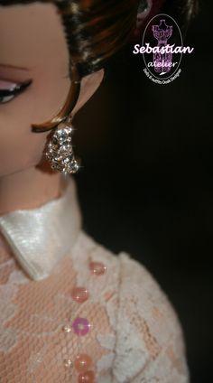 Earrings ...  Wild Lis by Sebastian Atelier