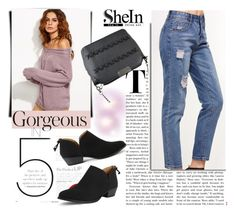 """SheIn 9/2"" by melissa995 ❤ liked on Polyvore featuring vintage"
