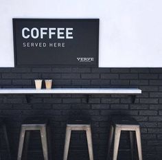 Coffee served