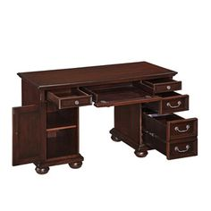 Colonial Classics Pedestal Desk | Overstock™ Shopping - Great Deals on Desks