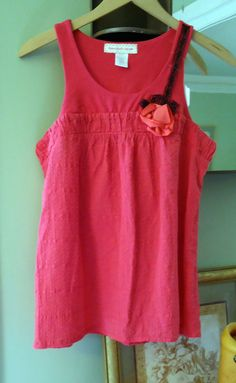 Hot Pink Tunic Top by peppermintpink on Etsy, $23.00