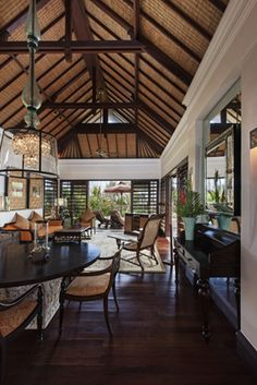 Strand Villa Living Room at St. Regis Bali
