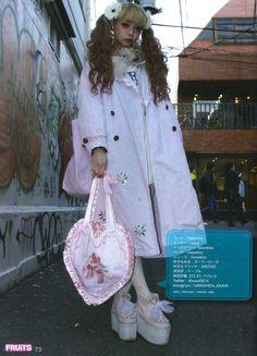 Hayashida Saaya, 23yr old Japanese Street Fashion, Tokyo Fashion, Harajuku Fashion, Kawaii Fashion, Lolita Fashion, Love Fashion, Fashion Design, Grunge, Tokyo Street Style