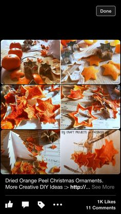 Dried Orange Christmas Decorations