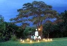africa romantic dinner