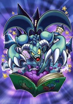 Toon Summoned Skull by Kraus-Illustration on DeviantArt Yu Gi Oh, Geeks, Yugioh Monsters, Cartoon Crazy, Yugioh Collection, Monster Cards, Skull Art, Chibi, Art Drawings