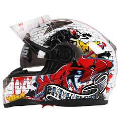 Motorbike Biker Enduro Optional Helmet Karting ATV Full Face Matt DOT for Bandit