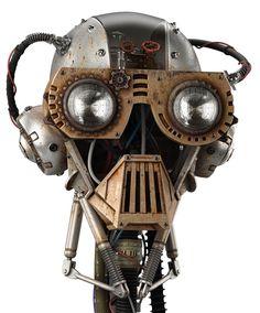 old robot concept art - Buscar con Google