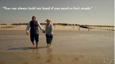 """""""You can always hold my hand if you need to feel steady."""" Season 4 finale."""