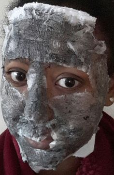 Activated charcoal+egg white+toilet paper=to a great facial mask.