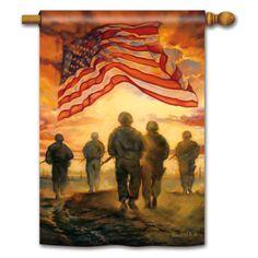 American Heroes Banner