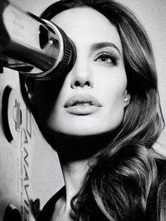 Angelina Jolie - One eye symbolism