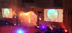 Submerged VBS 2016 Stage set up for Submerged VBS. Photo taken at the Lifeway 2016 VBS Preview Event in Fort Worth, Texas.