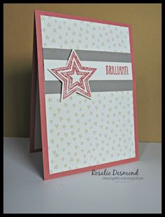 You are, brilliant! - #bethestar #sweetlilthings #stampinup #GDP030