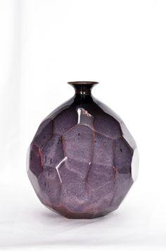 "Hedy Yang- ""Plum"" Obsidian and Smokey Merlot"