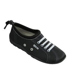 Black Aqua Sneaker - Toddler