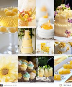 Yellow Weddings http://girlyinspiration.com/