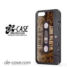 Lana Del Rey Tape DEAL-6339 Apple Phonecase Cover For Iphone 5 / Iphone 5S