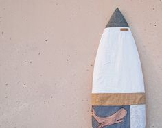 Surfboard Bag Surf Sock Patchwork Drawing by theAtlanticOcean