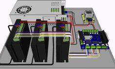CNC Wire DIV268N to Power Cnc router, Arduino cnc, Cnc