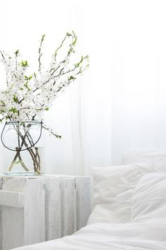 Spring vibes natural #white #interior