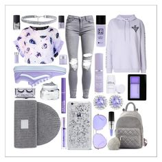 """""""♥️"""" by kitkats03 ❤ liked on Polyvore featuring Louise Coleman, AMIRI, McQ by Alexander McQueen, Vans, Michael Kors, Acne Studios, Ice, NARS Cosmetics, Maybelline and Kate Somerville"""