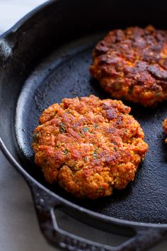 Curried Salmon Burgers are perfectly seasoned and delicious