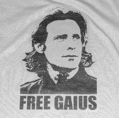 Free Gaius Baltar Men's T-Shirt Various Colors World Of Tomorrow, Nerdy, Guys, Gaming, Cotton, T Shirt, Free, Colors, Women