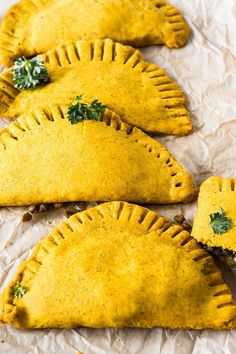 Delicious Jamaican Lentil Patties (Gluten-Free, Vegan) perfect island style fast food that is loved worldwide with flavors of the tropics!