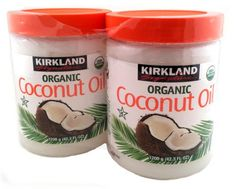 Organic Coconut Oil - Kirkland - Certified USDA Organic - Pack of 2 - 42.3 Fl Oz. Plastic Jars | Good Vibe Organics | organic food store