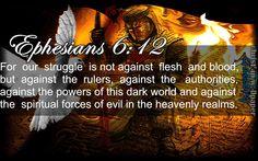 Ephesians 6 Verse 12