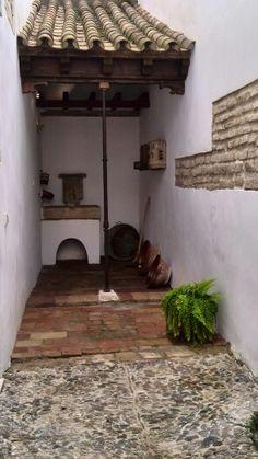 Patio y cocina de la Casa de Los Infantes