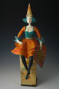 Games People Play - OOAK Art Doll.