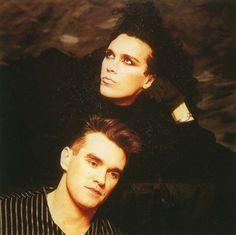 Pete Burns & Morrissey