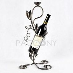 European Wrought Iron Wine Rack on http://www.paccony.com/product/European-Wrought-Iron-Wine-Rack-22270.html