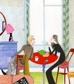 breakfast for two in Paris by Robert Wagt #robertwagt