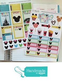 DISNEY inspired parks, Winter Break, Spring Break, Planner Stickers, Erin Condren Stickers, Life Planner Stickers, Planner Accessory from Confetti Paperie http://www.amazon.com/dp/B01BK3ZSGQ/ref=hnd_sw_r_pi_dp_pBZ1wb0R5SK13 #handmadeatamazon