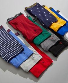 Polo Ralph Lauren Men s Classic-Fit Knit Cotton Boxer Briefs, 4-Pk. 6bea16a0055