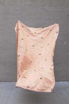 Morocco Pink Throw by Caroline Z Hurley • WorkOf