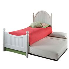 The Perfect Twin Bed (for boy's room or girl's room) with Trundle - for those nights when they have a friend sleep over.