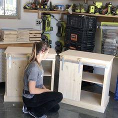 DIY Barn Door Hardware - free plans coming soon!