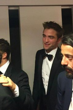Rob in the cinema after screening of Good Time at The Cannes Film Festival May 25th 2017.