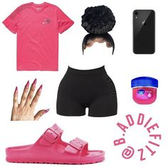 Cute Lazy Outfits, Baddie Outfits Casual, Swag Outfits For Girls, Teenage Girl Outfits, Cute Swag Outfits, Girls Fashion Clothes, Dope Outfits, Chill Outfits, Teen Fashion Outfits