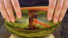 Loch in der Melone