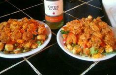 Fried Shrimp Salads