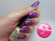 Pink and Purple Sharpie Marker Nails http://ma-nails.co.uk/pink-and-purple-sharpie-nails/