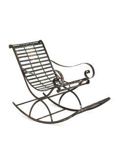 Iron Chair - Gilt Home